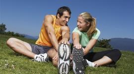 Занятия спортом помогут зачать ребенка