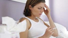 Вероятность простуды зависит от менструального цикла