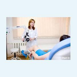 Обследования шейки матки
