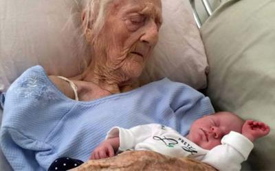 101-летняя женщина родила ребенка