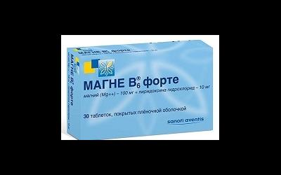 Препарат Магне В6