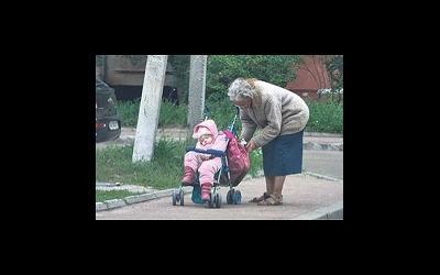 Самая пожилая мама Украины просит милостыню