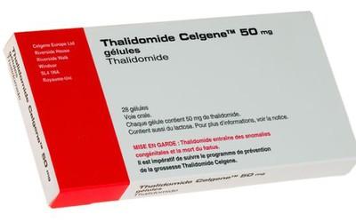 Прием талидомида при беременности повышает риск рождения детей с физическими отклонениями