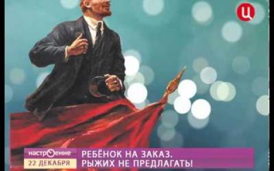 """Embedded thumbnail for Президент группы """"Свитчайлд"""" С.В. Лебедев в передаче ТВЦ """"Настроение"""""""